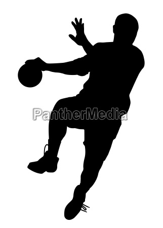 maennlicher handballspieler