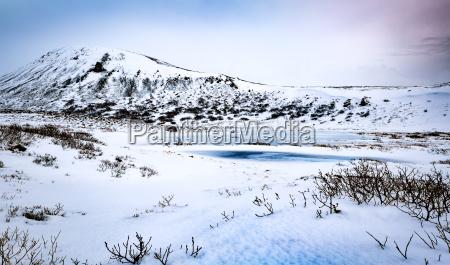 beautiful winter landscape