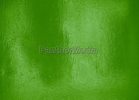 green shiny foil as background