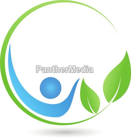 man leaves naturopaths logo