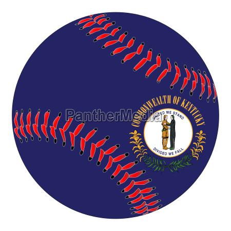 kentucky flag baseball