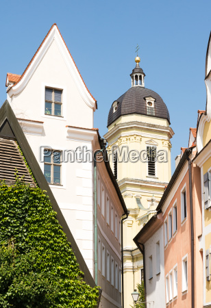 die hofkirche in neuburg