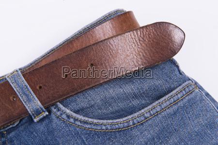 detail einer jeanshose