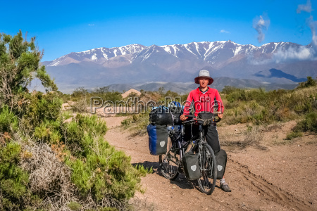 cyclist in argentina