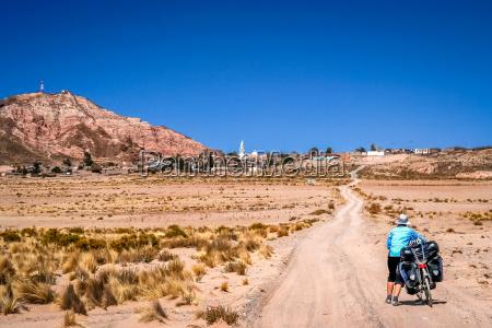 cycling through bolivia