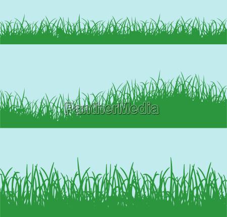 gruengras hintergrundkonzept