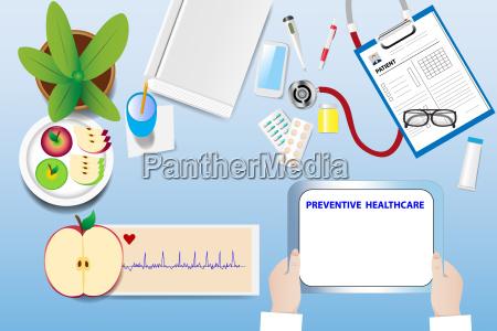 arzt mediziner medikus schreibtisch medizinisches medizinischer