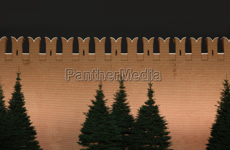 turm mauer festung ziegel ziegelstein kreml