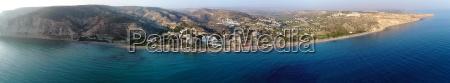 pissouri bay panorama limassol zypern