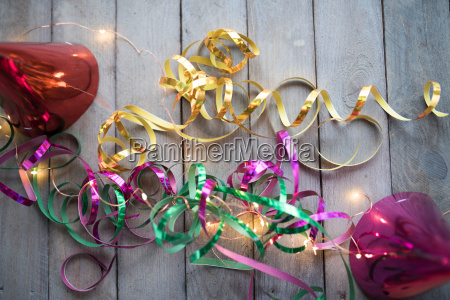 funny carnival accessories with light string