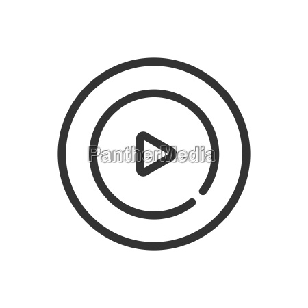 motion graphic icon line icon on