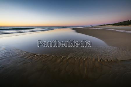 beach landscape at dawn sunrise beach