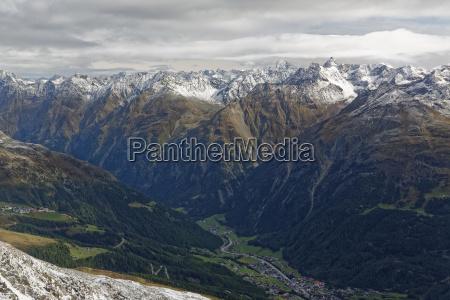fahrt reisen stadt horizont wolke alpen