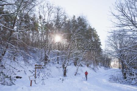 deutschland nordrhein westfalen nationalpark eifel mensch
