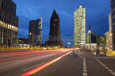 germany berlin view to potsdamer platz