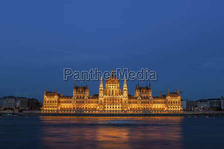 hungary budapest hungarian parliament building at