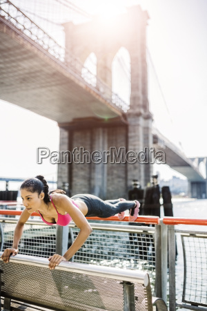 female athlete training in manhattan near
