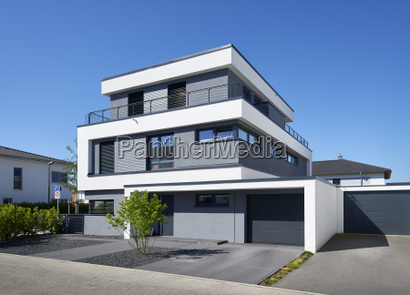 germany new built one family house