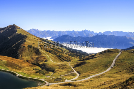 germany bavaria allgaeu upper allgaeu view