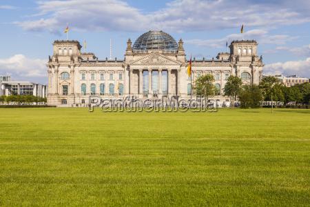 deutschland berlin berlin tiergarten blick auf