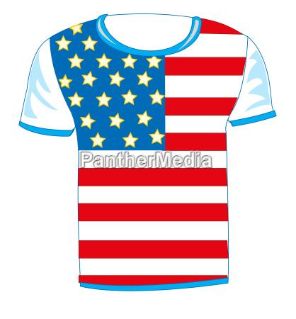 t shirt flag usa