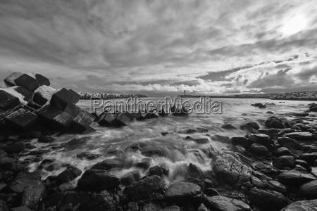 winter asien kalt kaelte wolke strand