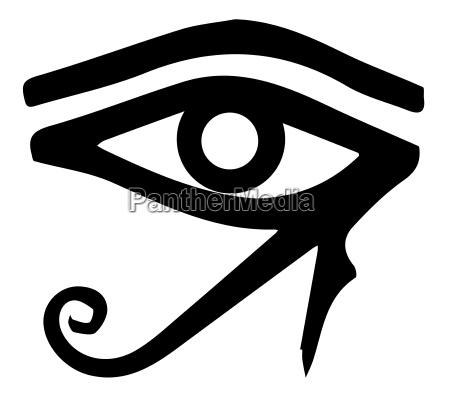auge oculus ophthalmos organ pyramide grabmal