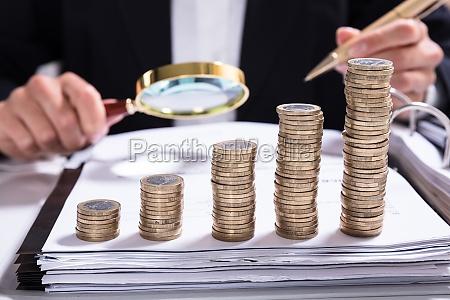 steuerbetrug untersuchungs konzept
