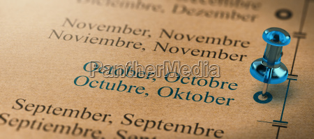 focus on october months of the