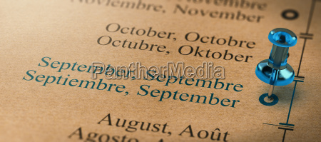 focus on september months of the