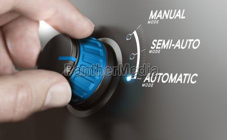 automatische test oder fertigungsprozesse automatisierung