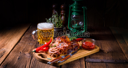 tasty barbecue pulled pork