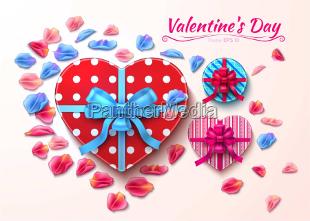 valentine day gift boxes heart shape