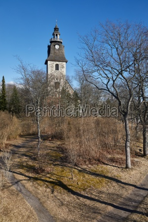 naantali church and park