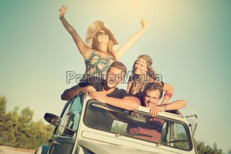 menschen in den ferien