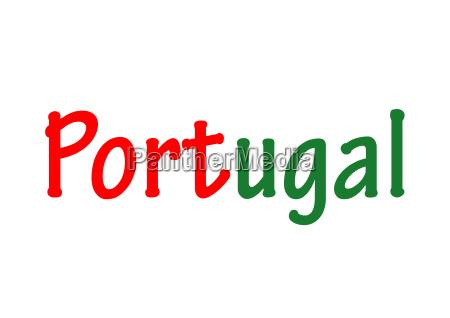 das wort portugal