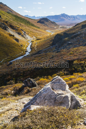 savage river and the landscape in