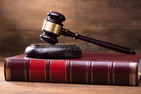 judge gavel and soundboard on law