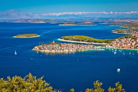adriatische sreiseweg ziel von primosten luft