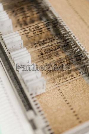 various medical samples on microscope slides