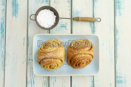 home baked franzbroetchen