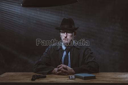 nacht nachtzeit hut portrait portraet potrait