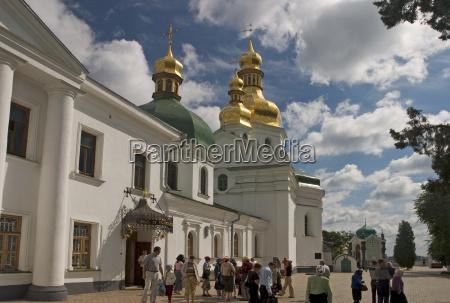 ukraine kiev das hohlenkloster kyjevo pecerska