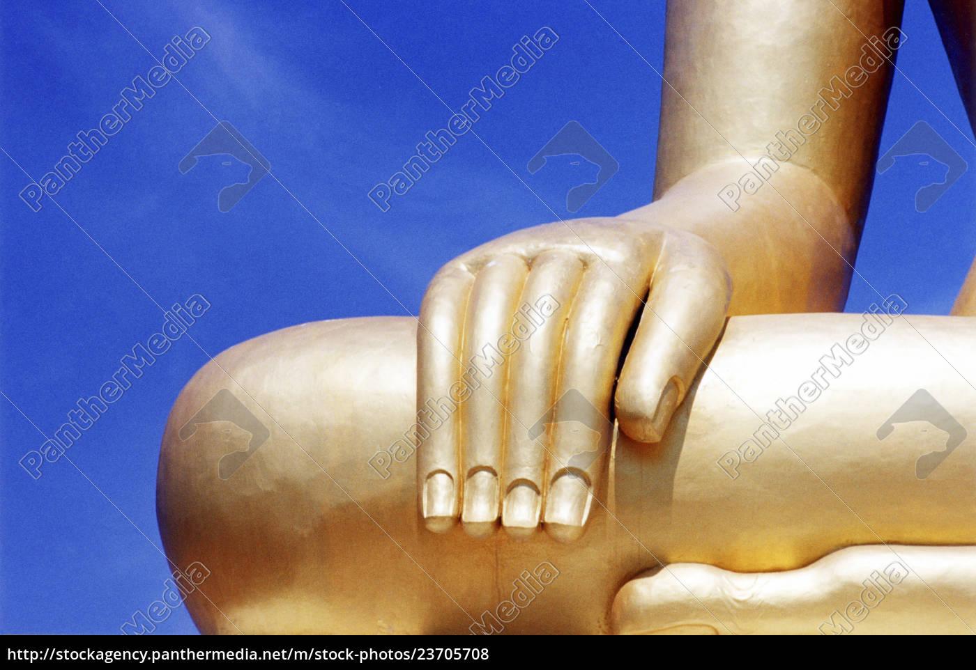detail, der, buddhaskulptur - 23705708