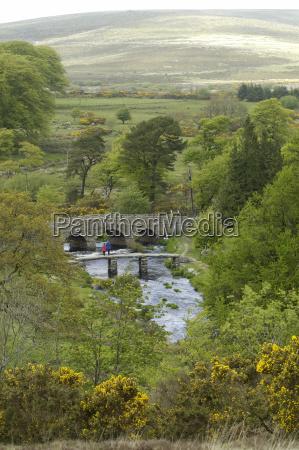 old steinbrucke postbridge dartmoor national park