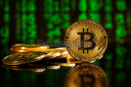 goldene bitcoins kryptowaehrung
