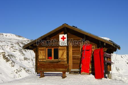 gondelbahnstation masse 1 les menuires skigebiet