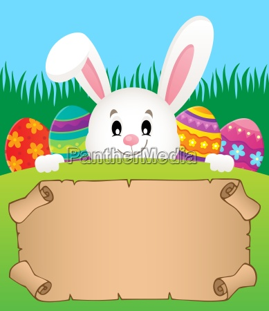 parchment and easter bunny theme 2