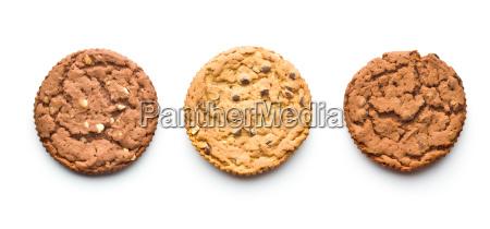 sweet chocolate cookies