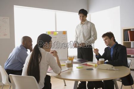 buero horizontal zusammenarbeit deal geschaeft business